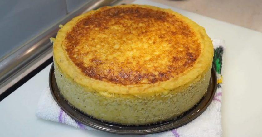 Картопляний пиріг з начинкою подивитися рецепт