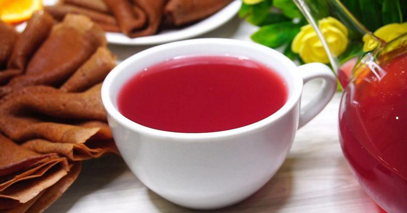 Журавлинний чай з апельсином подивитися рецепт