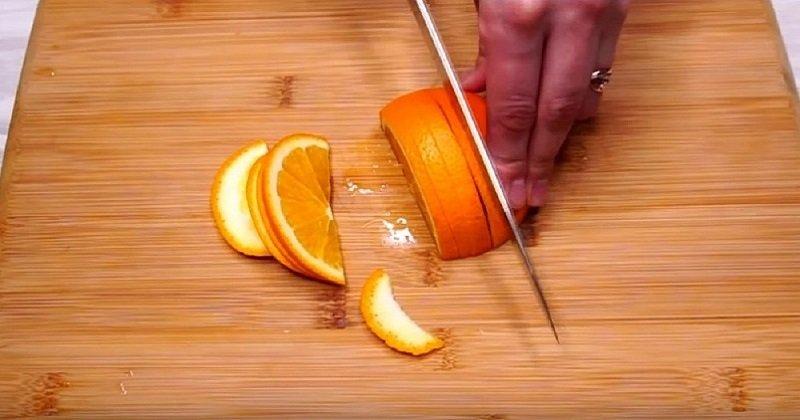 Журавлинний чай з апельсином