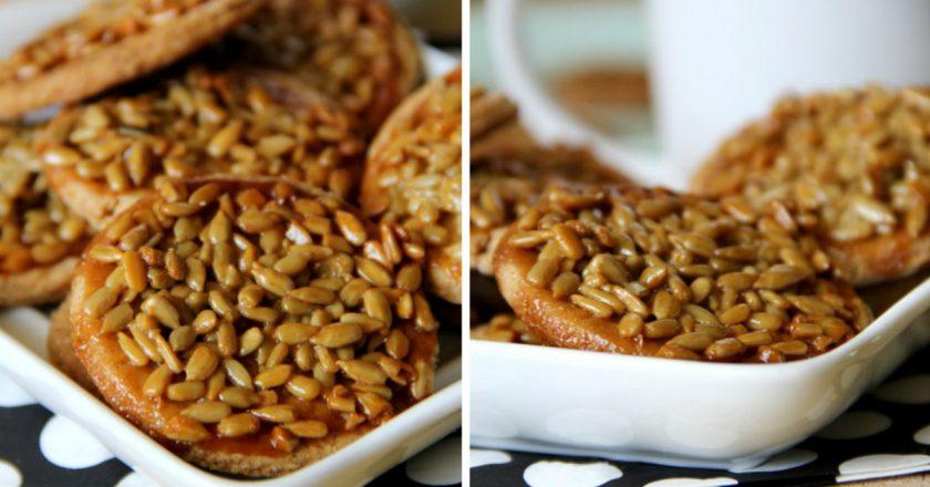 Печиво з насінням подивитися рецепт