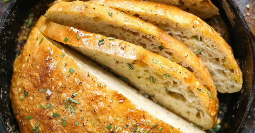Розмариновий хліб подивитися рецепт