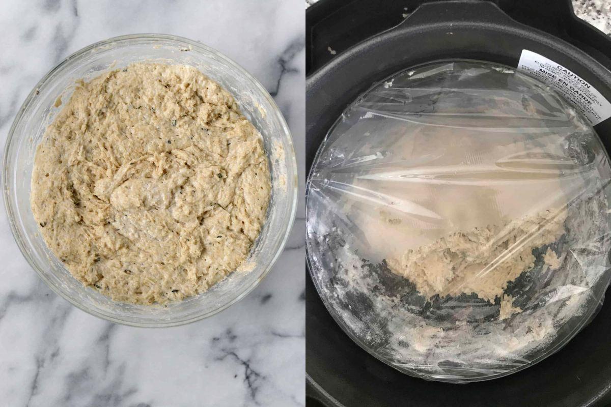Розмариновий хліб