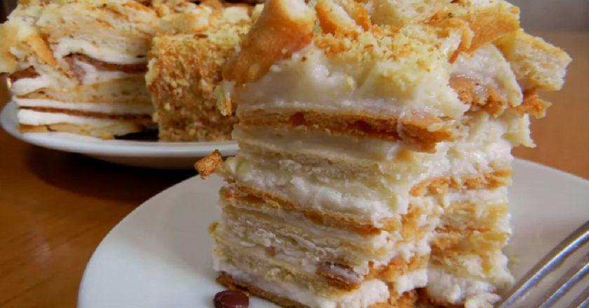 Вірменський торт «Егіна» подивитися рецепт