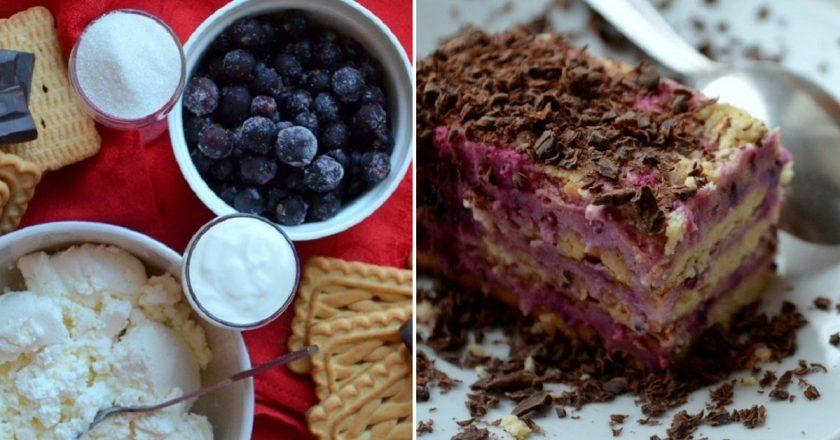 Десерт з печива подивитися рецепт