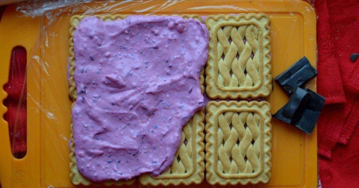 Десерт з печива