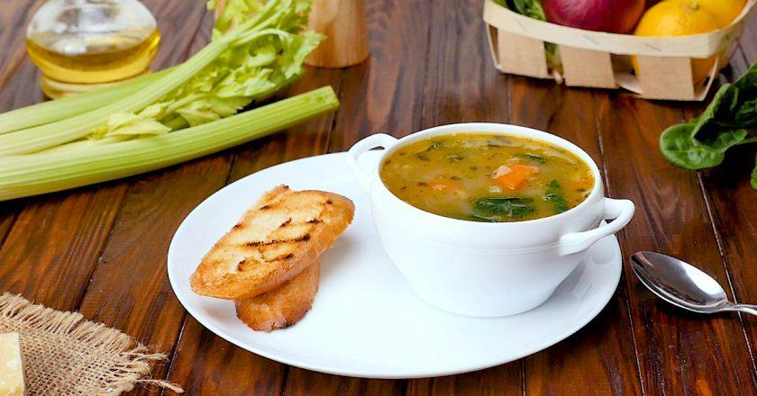 Квасолевий суп по-середземноморськи подивитися рецепт