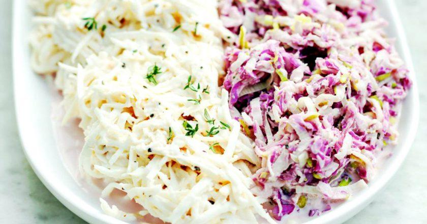 Весняний салат з селерою подивитися рецепт