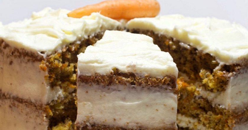 Морквяний торт з ананасом подивитися рецепт