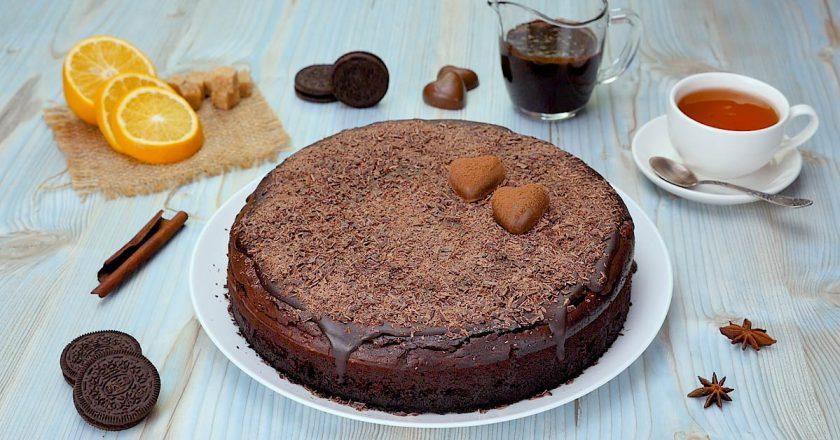 Шоколадний чізкейк з Oreo подивитися рецепт