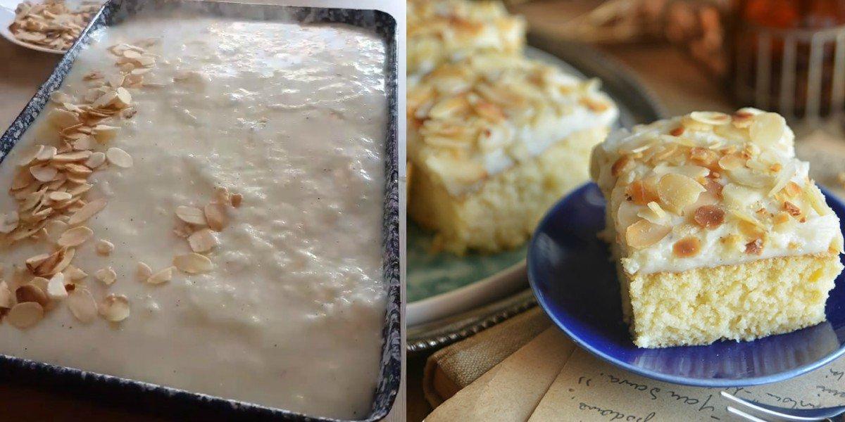 Арабський молочний пиріг
