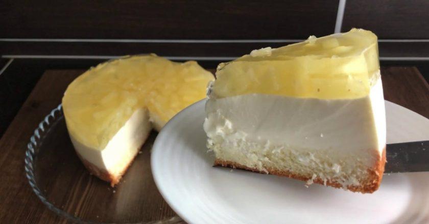 Домашній муссовий торт подивитися рецепт