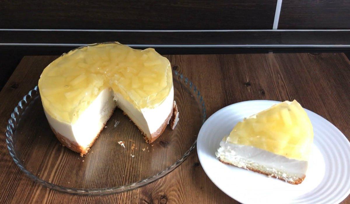 Домашній муссовий торт
