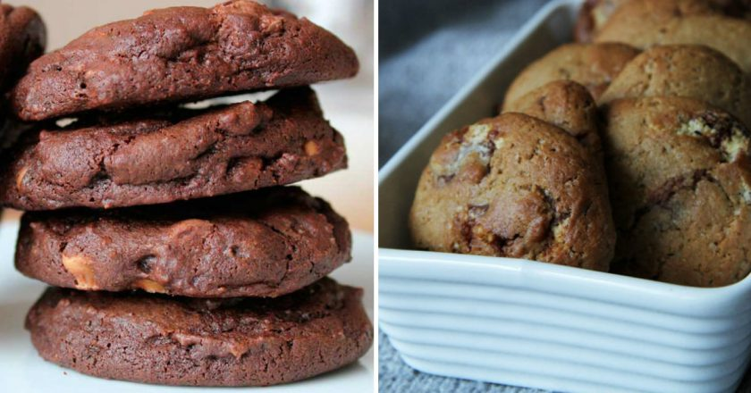 Печиво з шоколадом подивитися рецепт