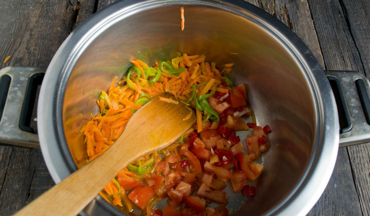 Пісний суп з цвітної капусти