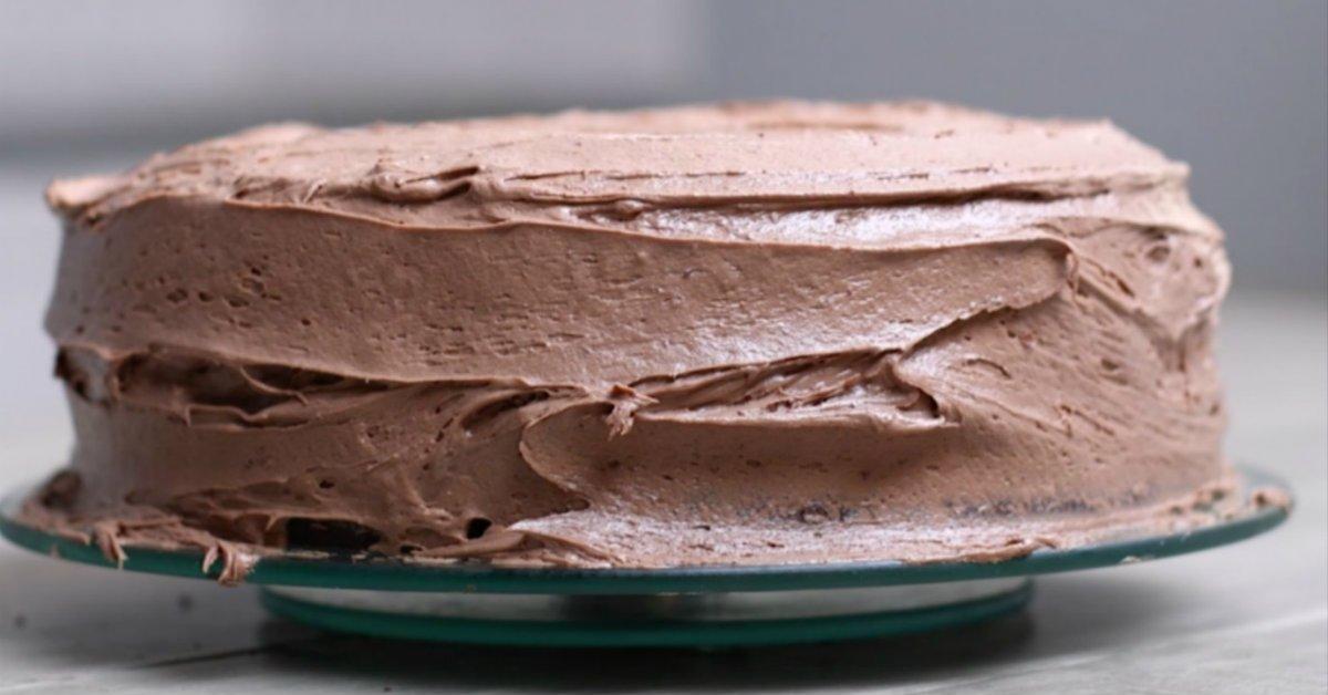 Шоколадний торт на майонезі