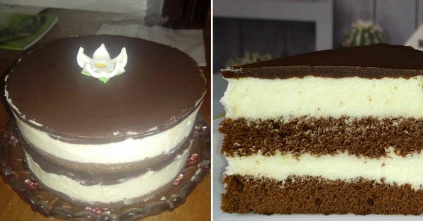 Торт «Мілка» подивитися рецепт
