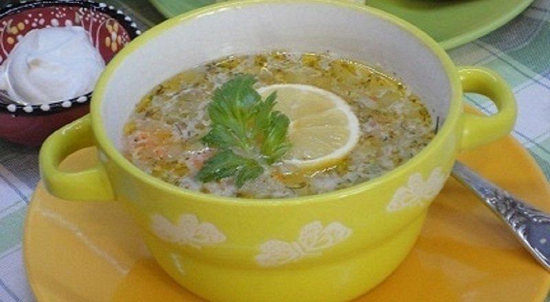 Рисовий суп з кунжутом подивитися рецепт