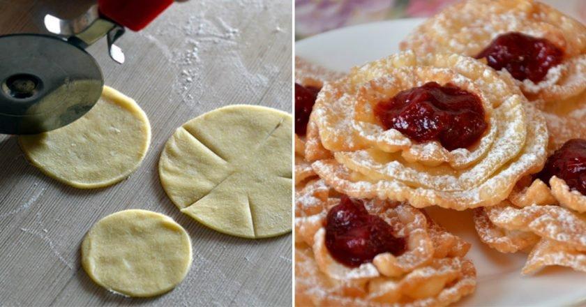 Хмиз «Хризантеми» як приготувати, покрокові рецепти від «Це Смак»