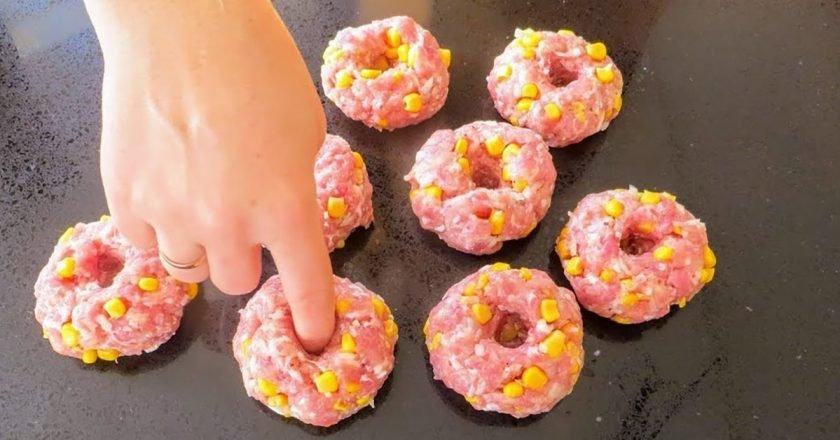 Котлети-пончики подивитися рецепт