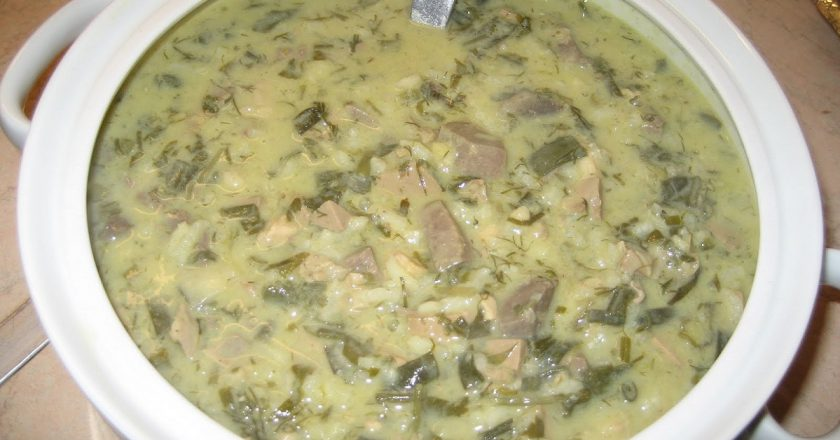 Великодній грецький суп подивитися рецепт