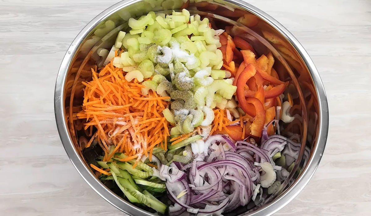 Овочевий салат «Вітамінка»