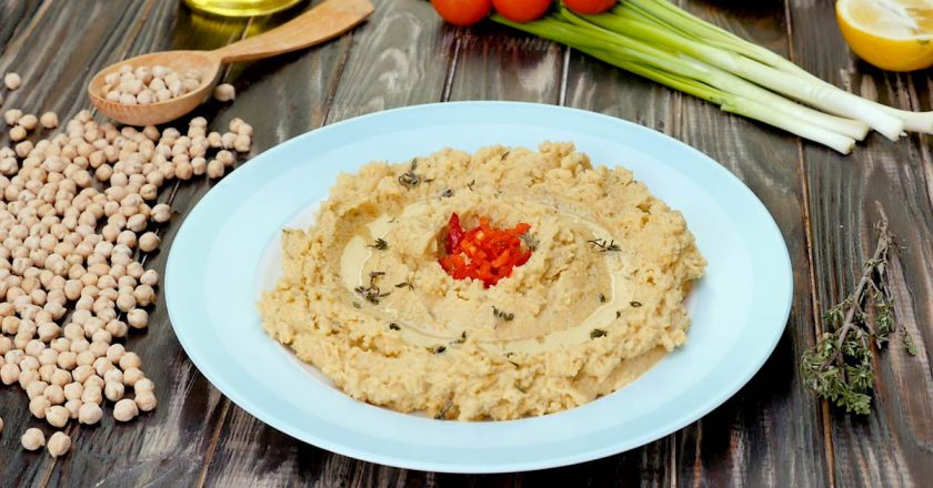 Хумус з печеним часником як приготувати, покрокові рецепти від «Це Смак»