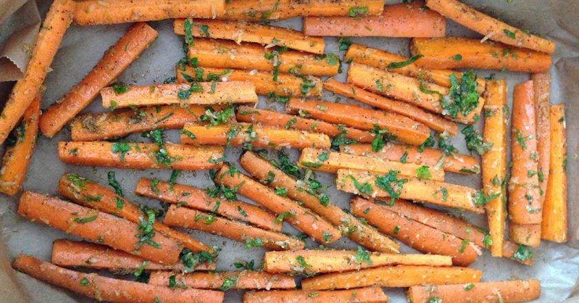 Морква в духовці подивитися рецепт