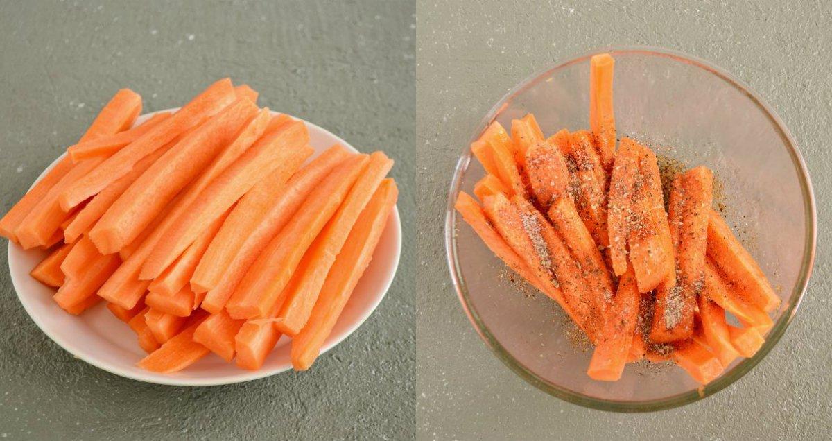 Морква в духовці