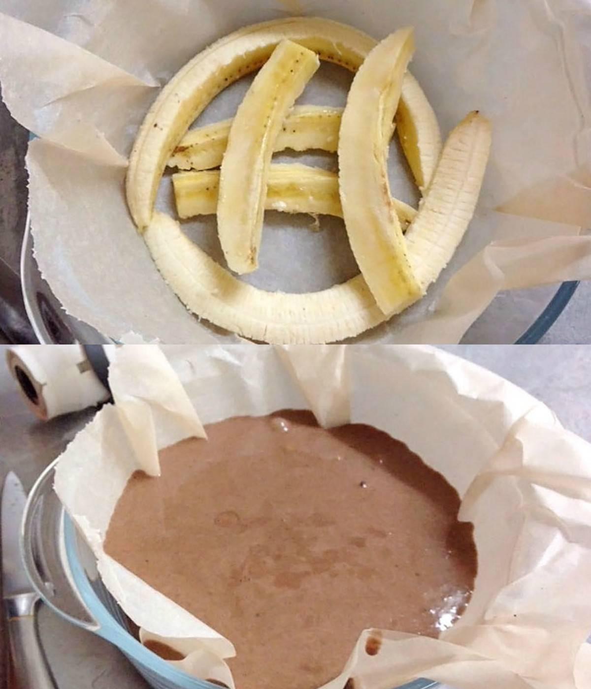Банановий брауні