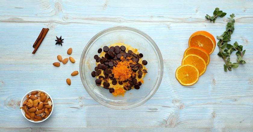 Біскотті з мигдалем і шоколадом подивитися рецепт