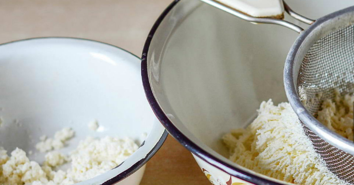Паска сирна з кокосом