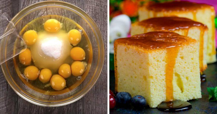 Солодкий омлет з молоком в духовці подивитися рецепт
