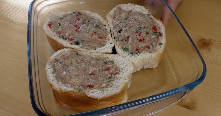 Котлета в хлібі подивитися рецепт