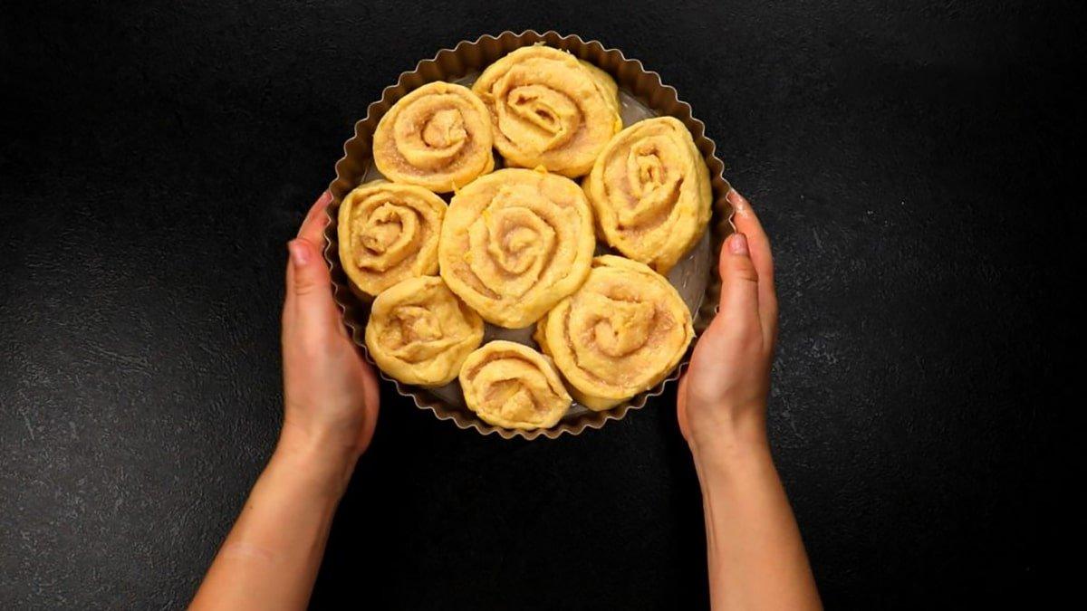 Кукурудзяні булочки з вершковою начинкою