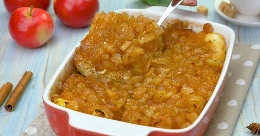 Сирно-яблучний десерт подивитися рецепт