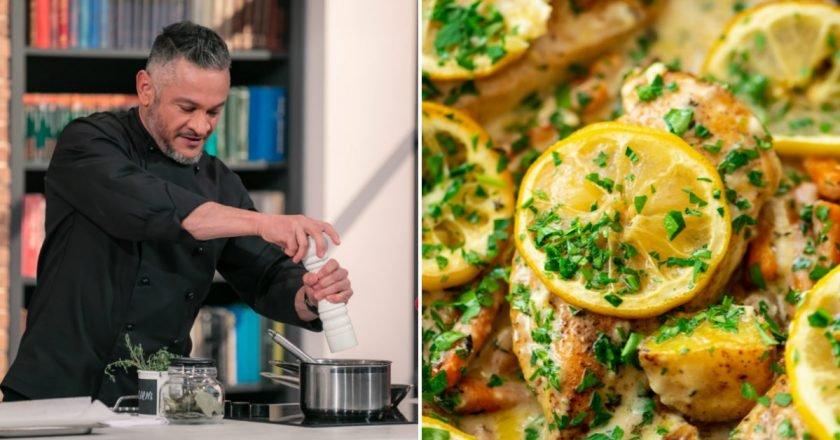 Курка з картоплею і лимоном в духовці подивитися рецепт
