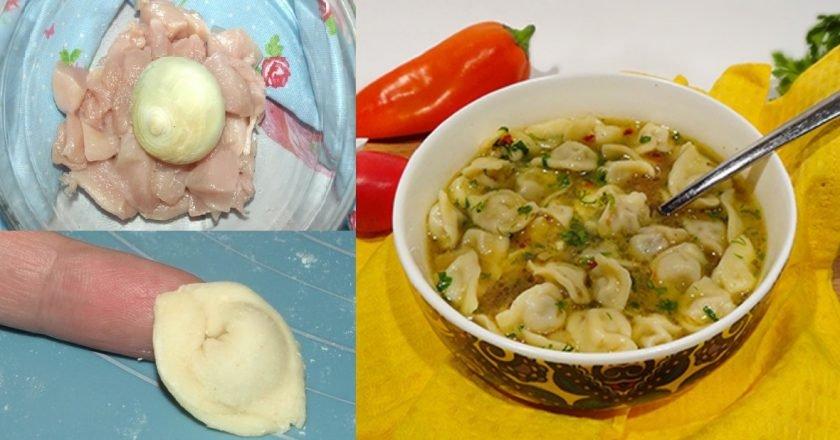 Суп з пельменями без картоплі подивитися рецепт