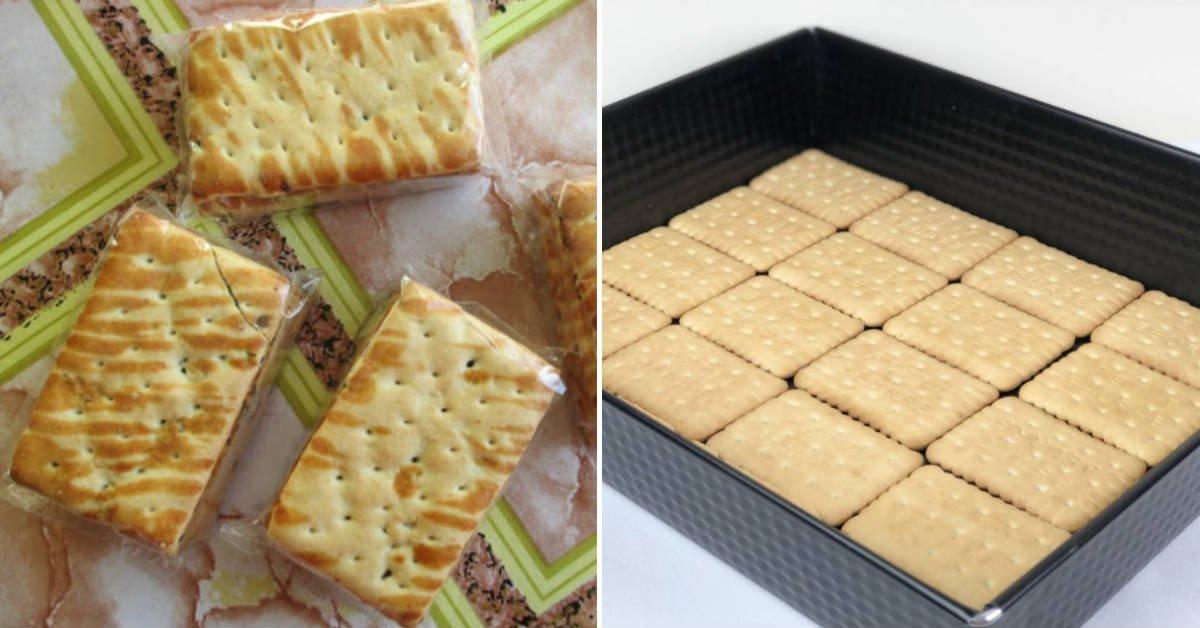 Торт з печива «Бите скло»