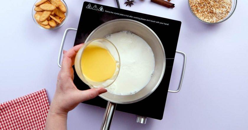 Кокосовий пудинг на молоці подивитися рецепт