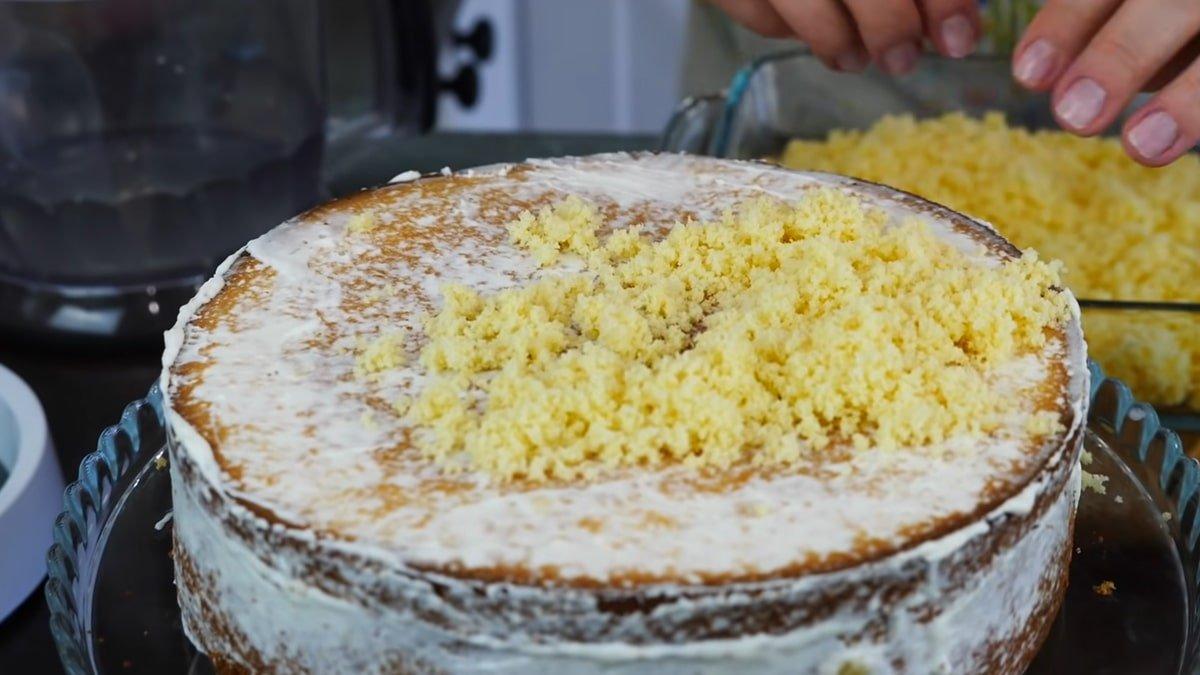 Домашній банановий торт від Ольги Матвій