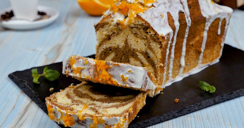 Кавовий кекс з апельсиновою цедрою подивитися рецепт