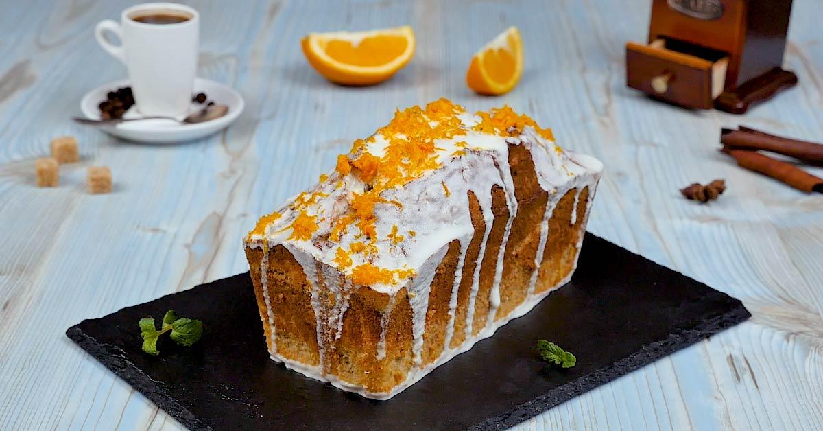 Кавовий кекс з апельсиновою цедрою