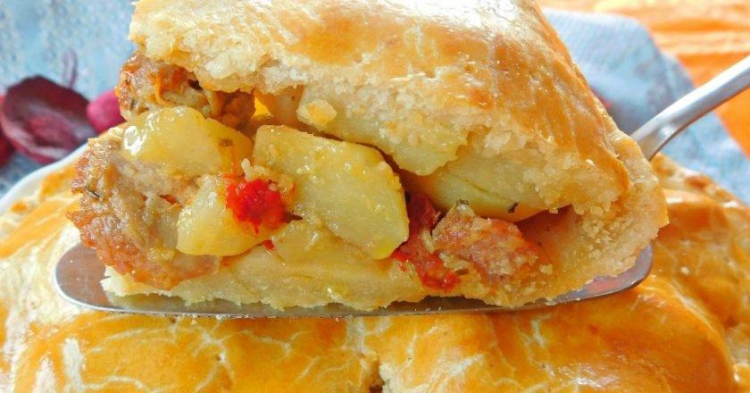 Пиріг з картоплею по-італійськи подивитися рецепт
