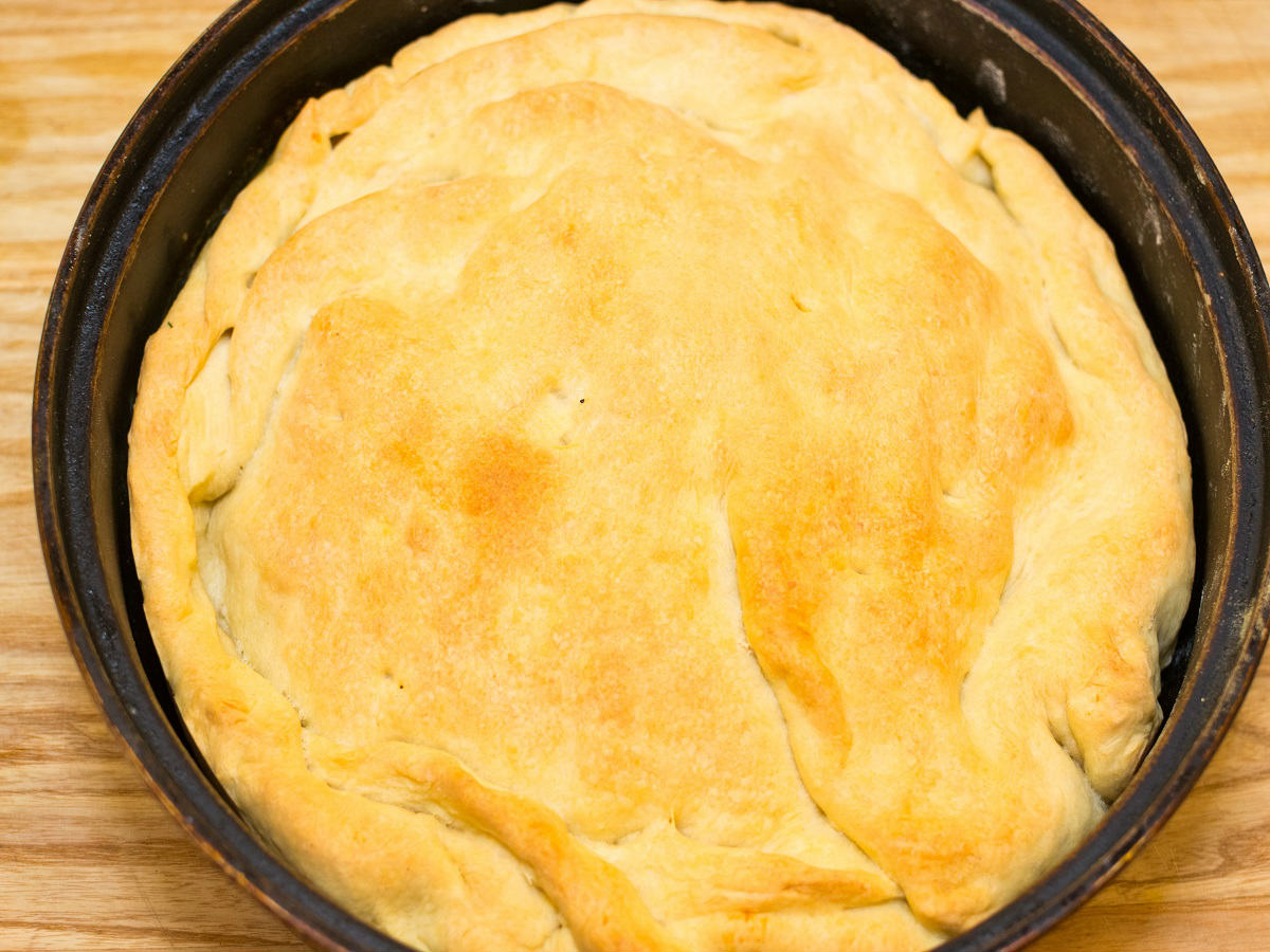 Пиріг з картоплею по-італійськи