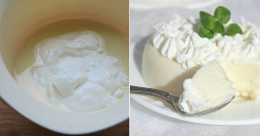 Простий молочний десерт в мультиварці - Це Смак