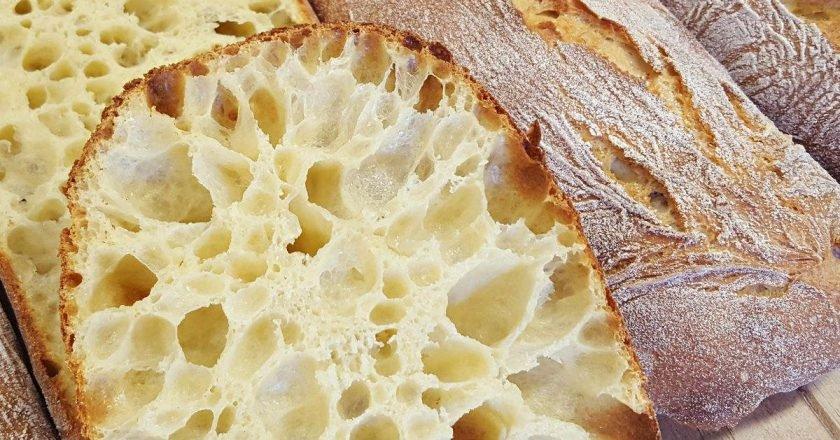 Хліб з дірками: як готувати чіабату подивитися рецепт