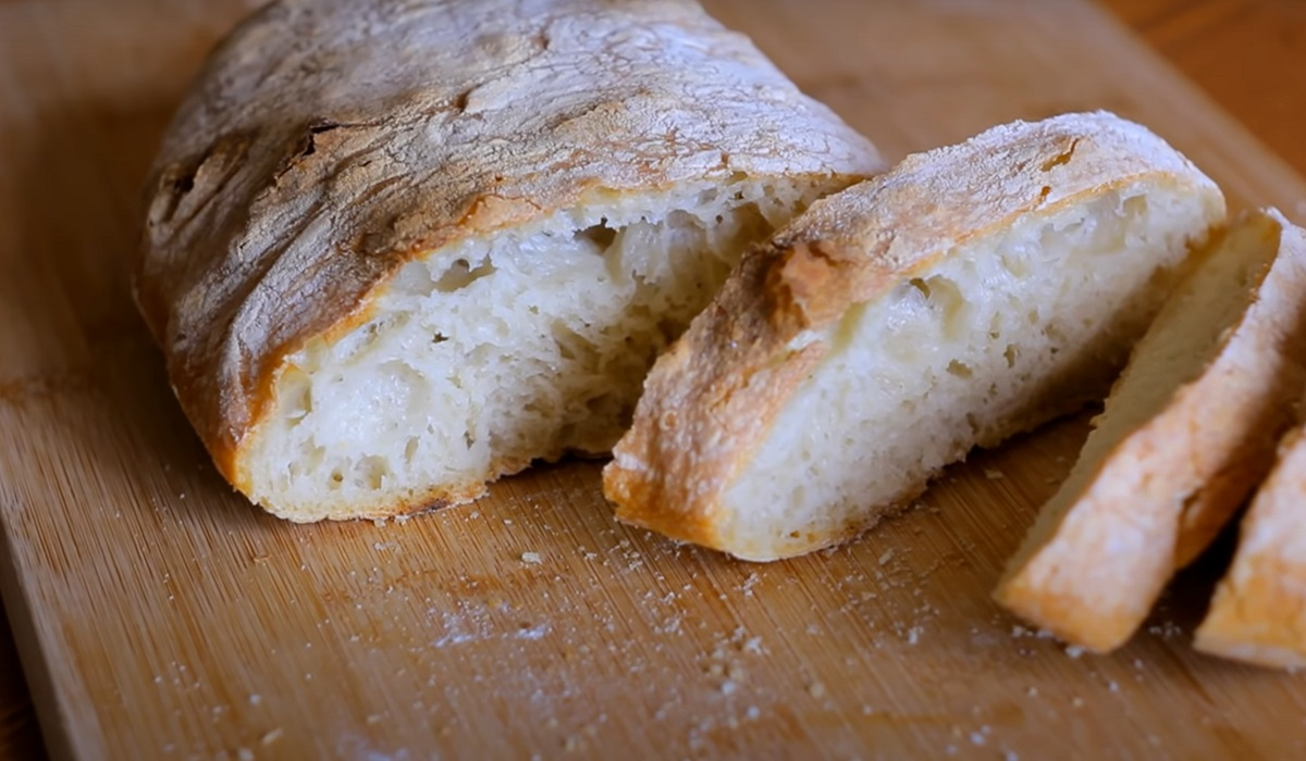 Хліб з дірками: як готувати чіабату