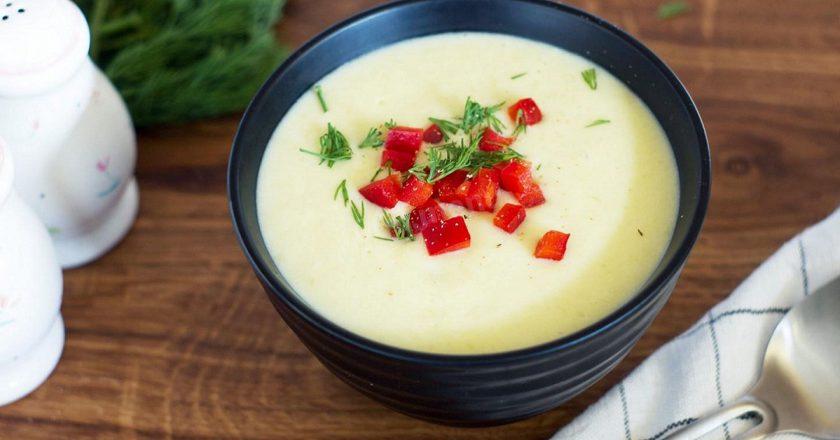 Крем-суп з кабачків з манною крупою подивитися рецепт