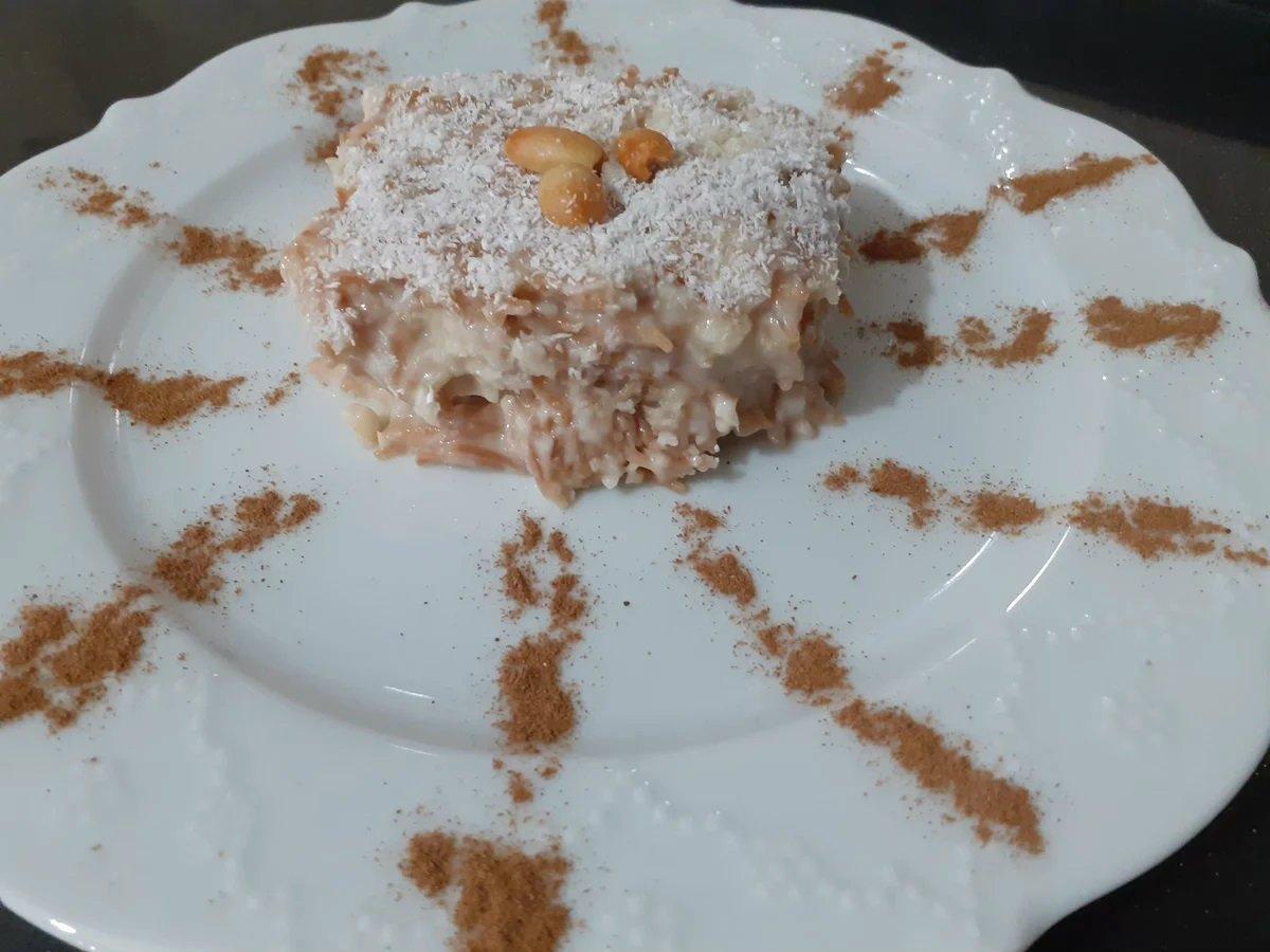Турецький десерт «Левине молоко»