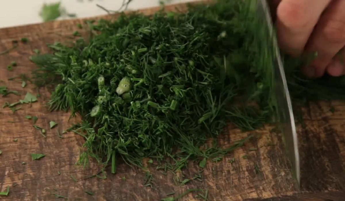 Курячі котлети з зеленню
